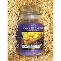 Yankee Candle BOTE GRANDE LIMON-LAVANDA,LEMON-LAVENDER