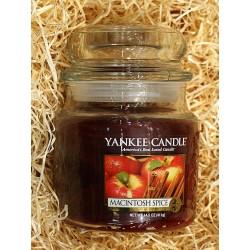 Yankee Candle BOTE MEDIANO MANZANA-CANELA , MACINTOSH-SPICE