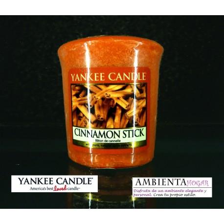 Yankee Candle VELA VOTIVA CANELA , CINNAMON-STICK