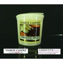 Yankee Candle VELA VOTIVA, ESPECIA DEL PARAISO, PARADISE-SPICE