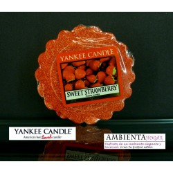 Yankee Candle TARTS, FRESA DULCE, SWEET-STRAWBERRY