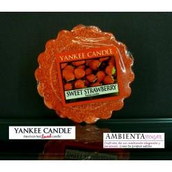 Yankee Candle TARTS, FRESA DULCE, SWEET-STRAWBERRY