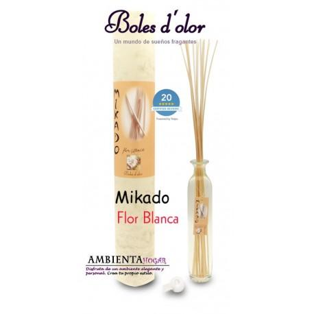 Ambientador Boles d`olor - Mikado Flor blanca