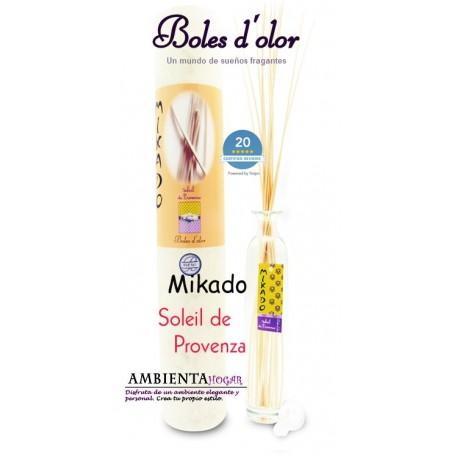 Ambientador Hogar - Mikado Soleil de Provenza, Boles d`olor.