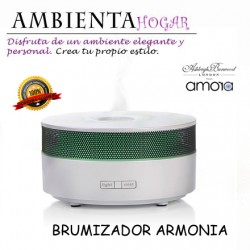 BRUMIZADOR DE-LUXE, AMORA SCENT, HARMONIA,ASHLEIG & BURWOOD