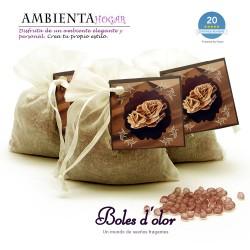Mini Resinas ROSE DES SABLES Boles d`olor