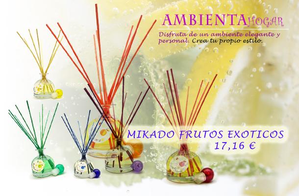 AMBIENTADORES PARA EL HOGAR MIKADO FRUTOS EXOTICOS