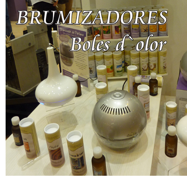 Boles d`olor Brumizadores