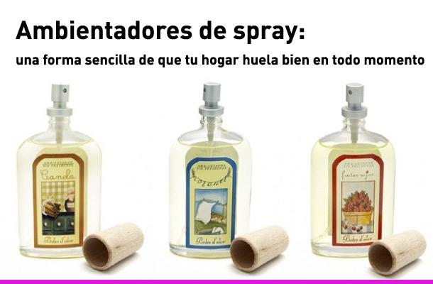 C mo elegir ambientadores de spray ambientadores boles d 39 olor - Ambientadores para el hogar ...